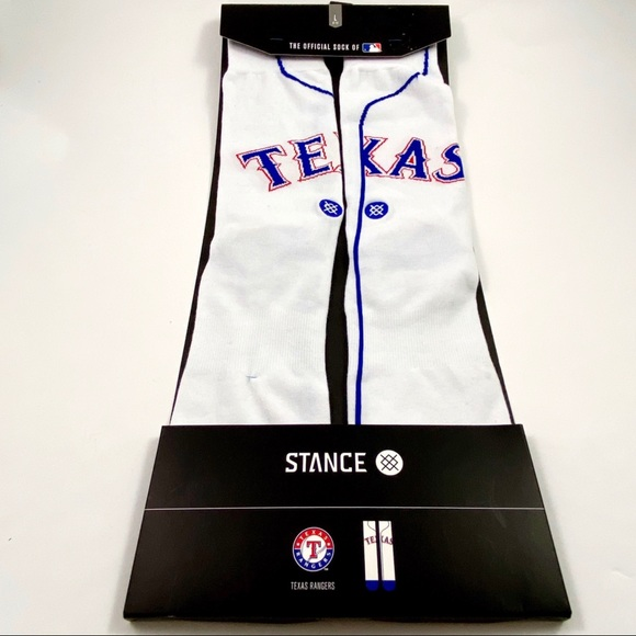Stance Other - Stance MLB Texas Rangers Home Jersey Socks Sz 9-12